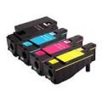 1 Set Compatible Dell c1660w  CMYK Toner