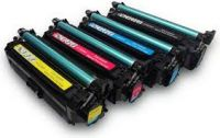 1 Set Remanufactured HP  507A CMYK CE400A CE401A CE402A CE403A LaserJet Toner Cartridge