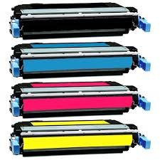 One Set Remanufactured HP 642A CB400A CB401A CB402A CB403A Toner for CP4005 CP4005dn